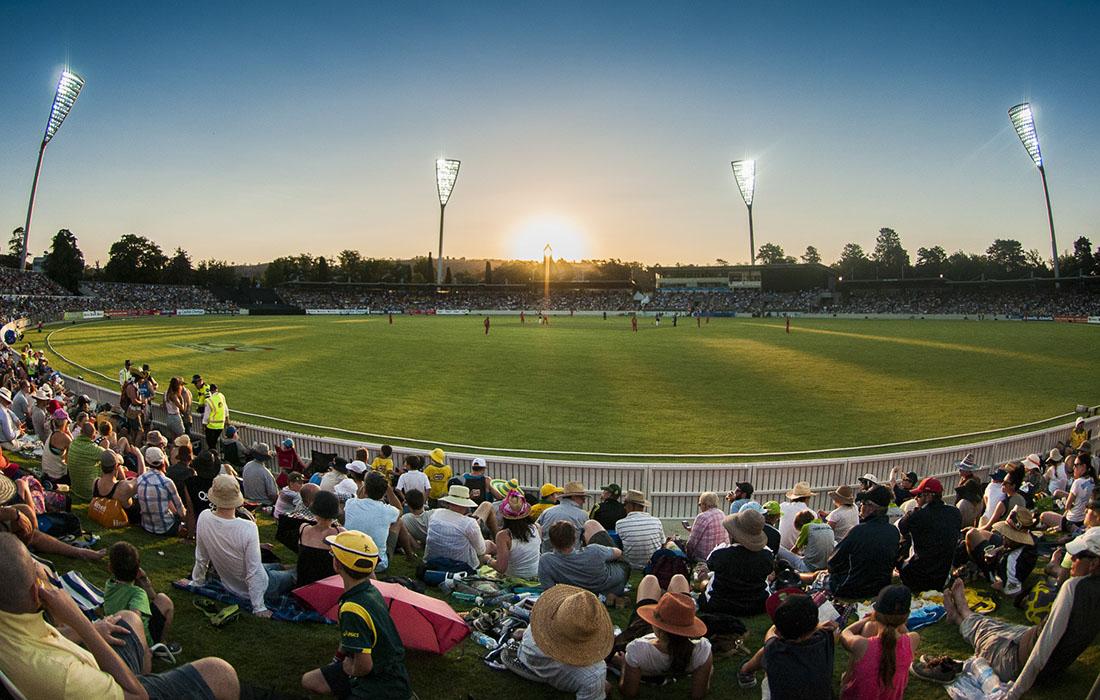 Canberra ariel