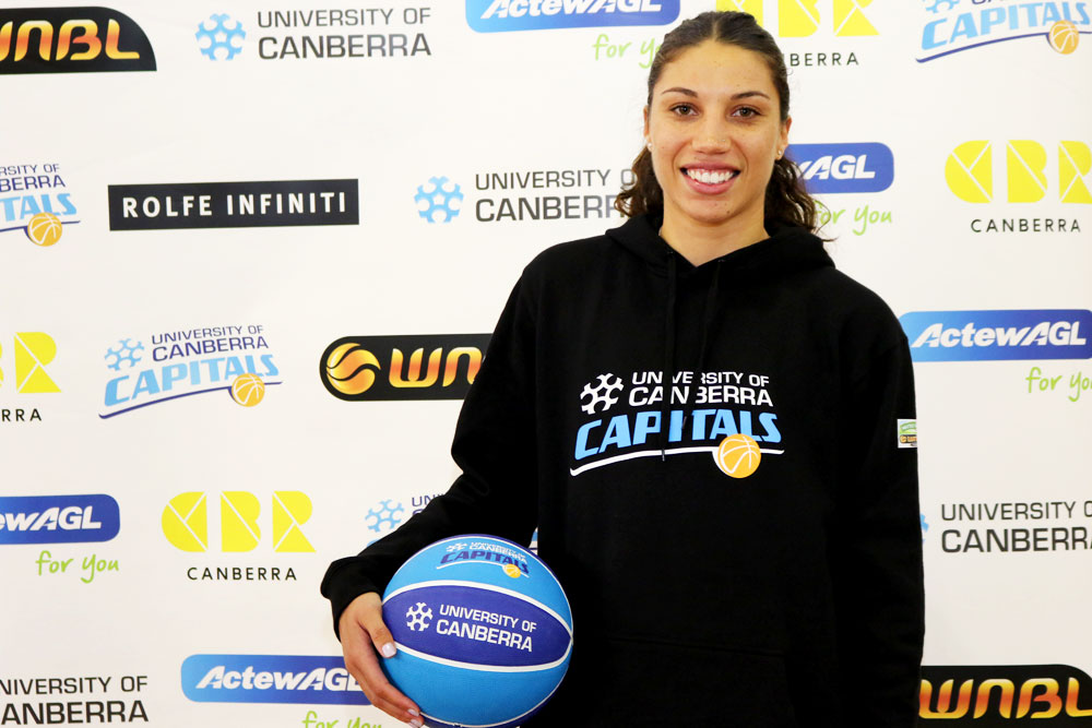 Chevannah Paalvast has joined the University of Canberra Capitals squad for the 2017/18 WNBL season