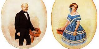 Maria and Ignaz Semmelweis