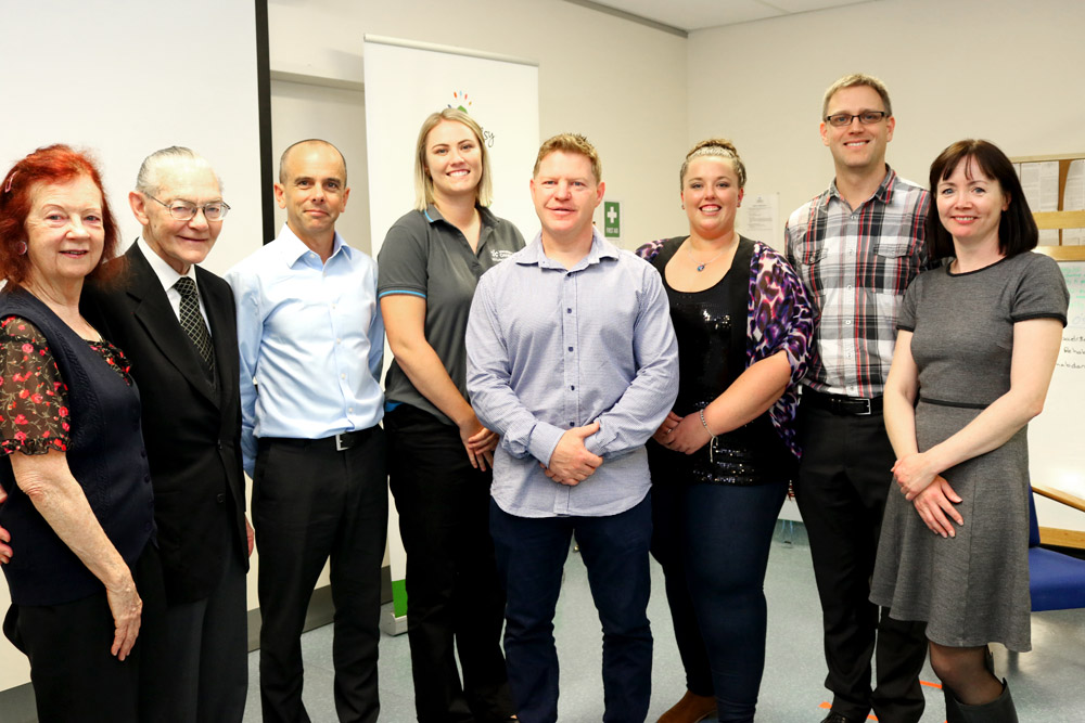As part of the scholarship Ms Martin and Ms Callaghan undertook five-week clinical placements at the Cerebral Palsy Alliance