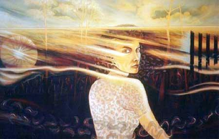 Lindy Chamberlain by Neville Dawson