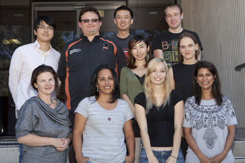 Photo of the Sudha Group researchers