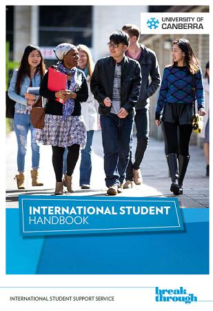 International Student Handbook Cover 2015