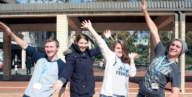 ACT-IS students reaching for the stars