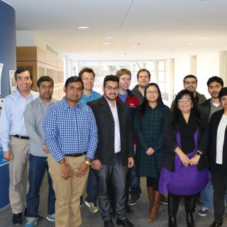 The Winter Research Scholars and their supervisors