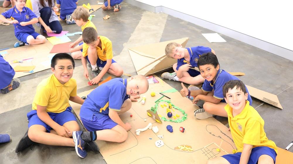 Primary schoolers and UC students combat obesity