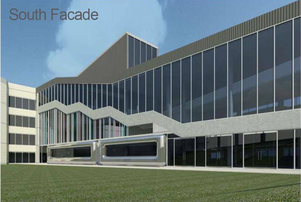Building 7 Facade Render