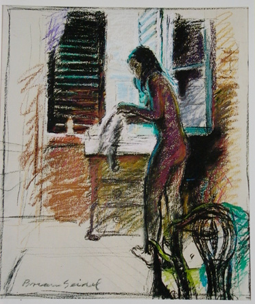 Study for Midday Brunch by Brian Seidel