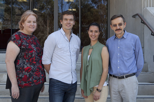 Photo of the Visual Neuroscience Group researchers