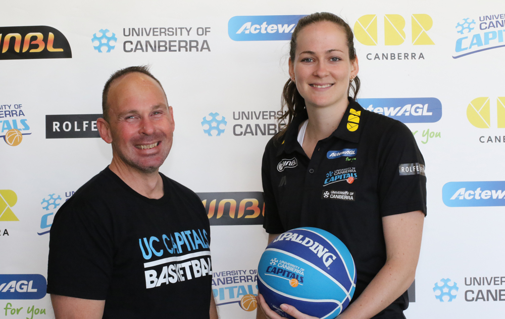 Emerging Opal and University of Canberra student Keely Froling has signed on for another two seasons with the UC Capitals