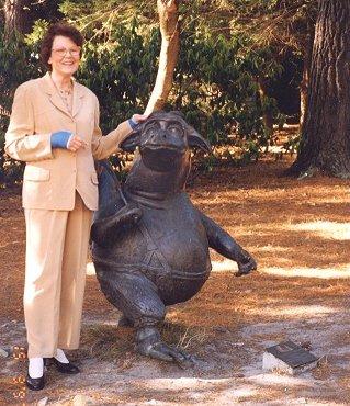 Belle Alderman at Dromkeen, 1996.