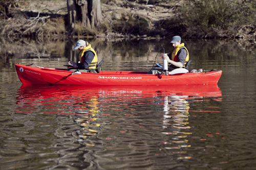 UC researcher Fiona Dyer and her team will measure impact of environmental water on native species and water quality in the lower Lachlan River system. Photo: Michelle McAulay.