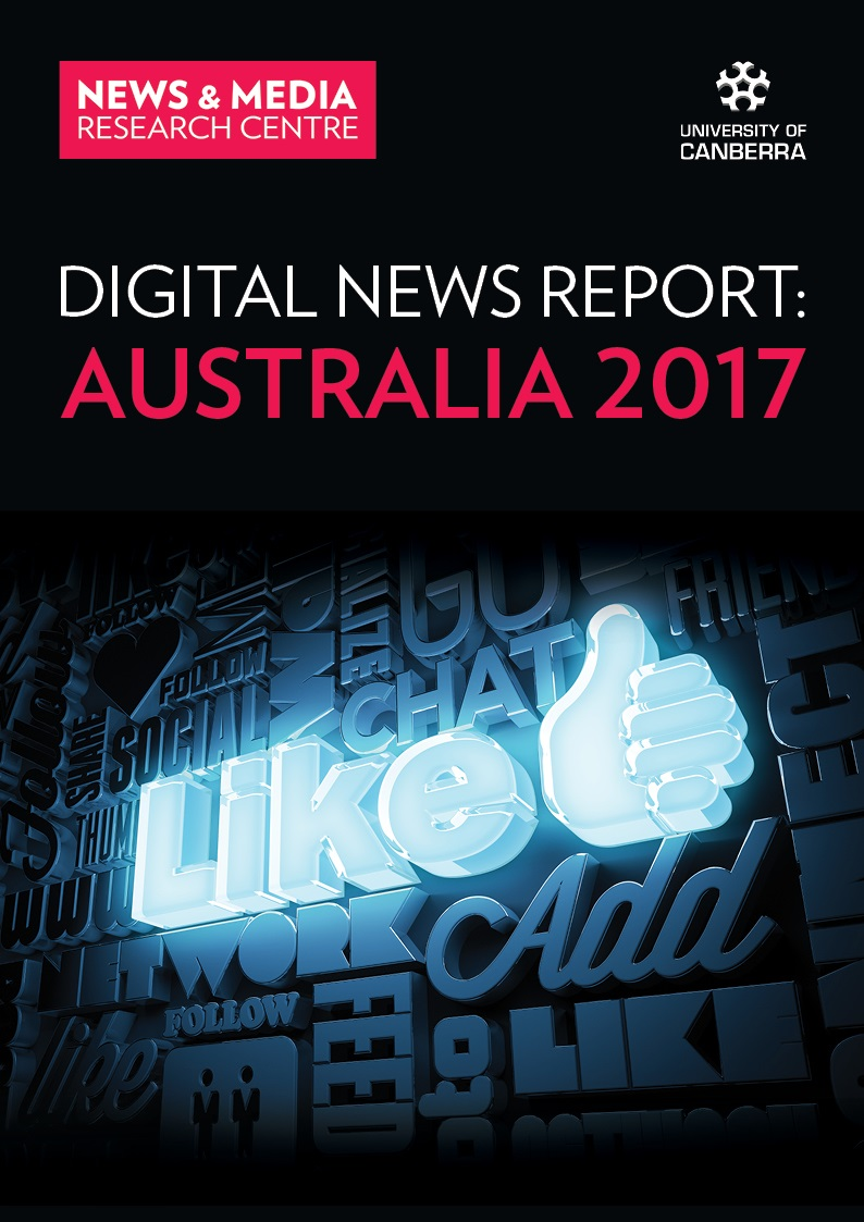 Digital News Report 2017 Cover Page