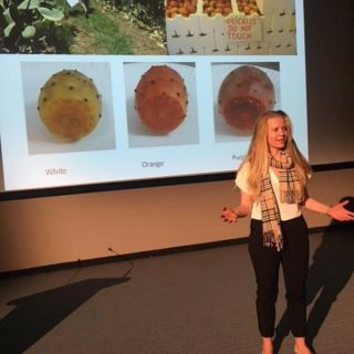 University of Canberra PhD student Caroline Gouws presented her 'Three Minute Thesis' at the CHARM conference