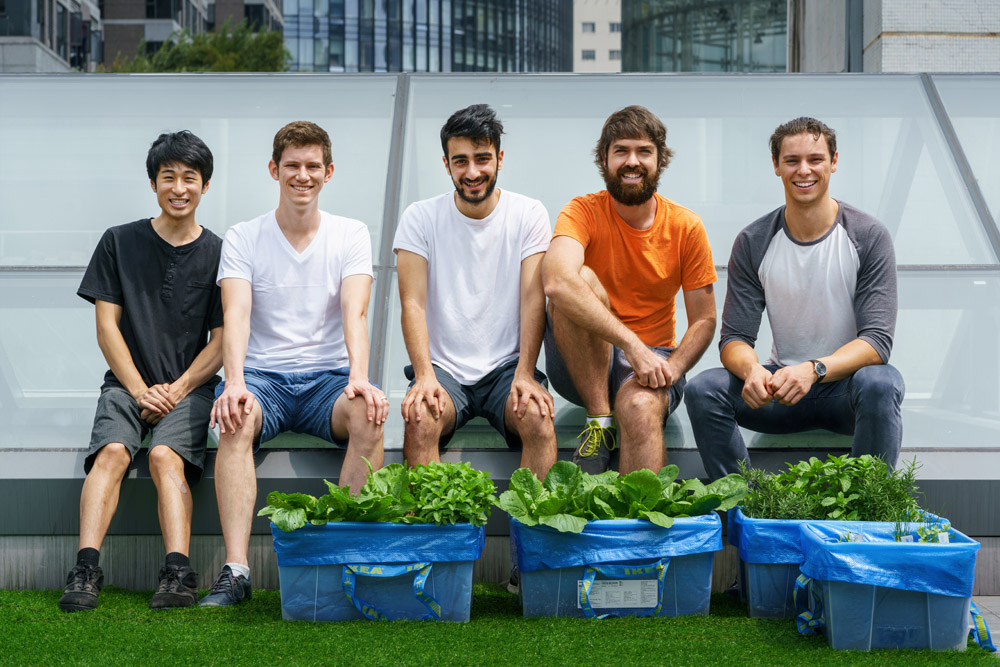 The GardenSpace team