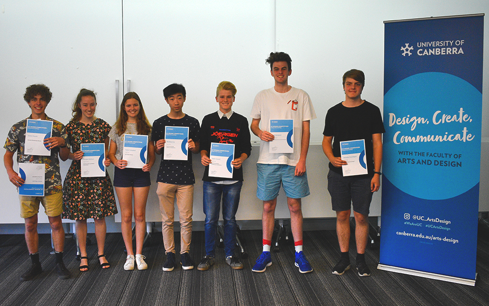 UC Design Competition winners